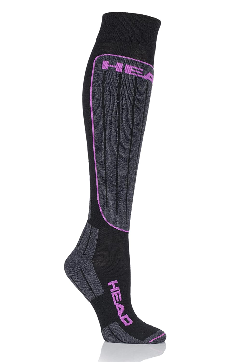 Head Damen, Sportsocken, HEAD SKI PERFORMANCE KNEEHIGH 1P UNISEX