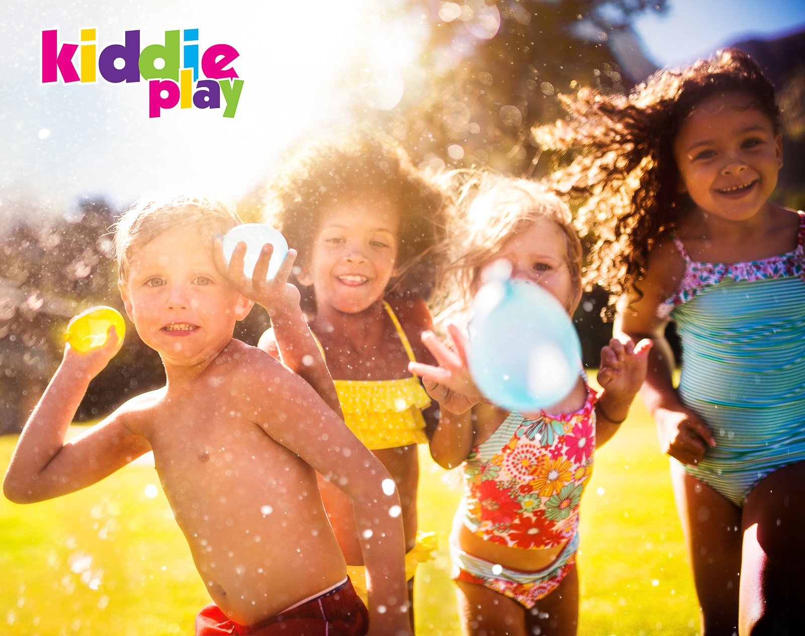 Kiddie Play Water Balloons for Kids with Filler Pump (250 Balloons) by Kiddie Play (Image #2)