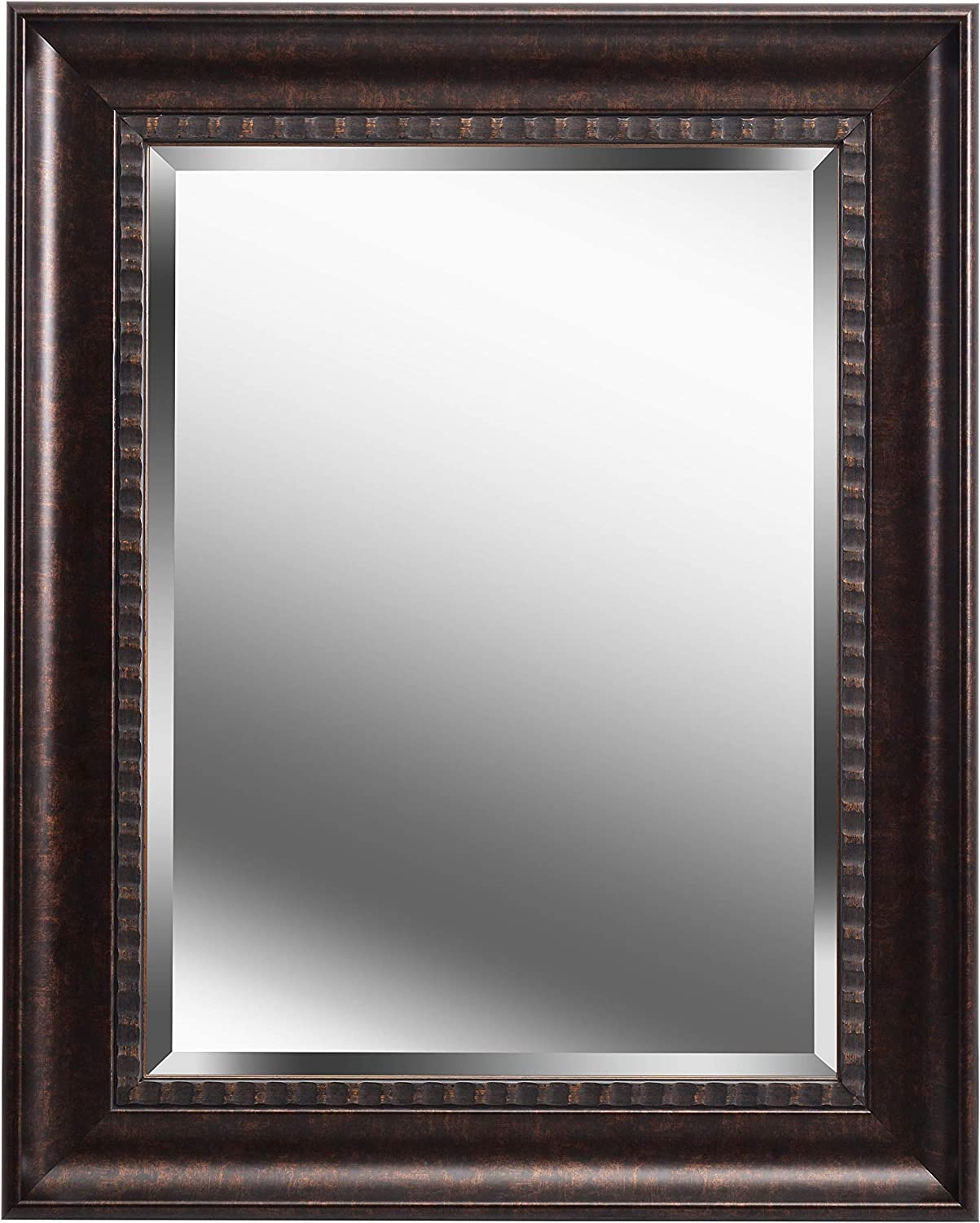 Kenroy Home 60326GB Amiens Mirrors, 24 Inch, Bronze with Gold Highlight