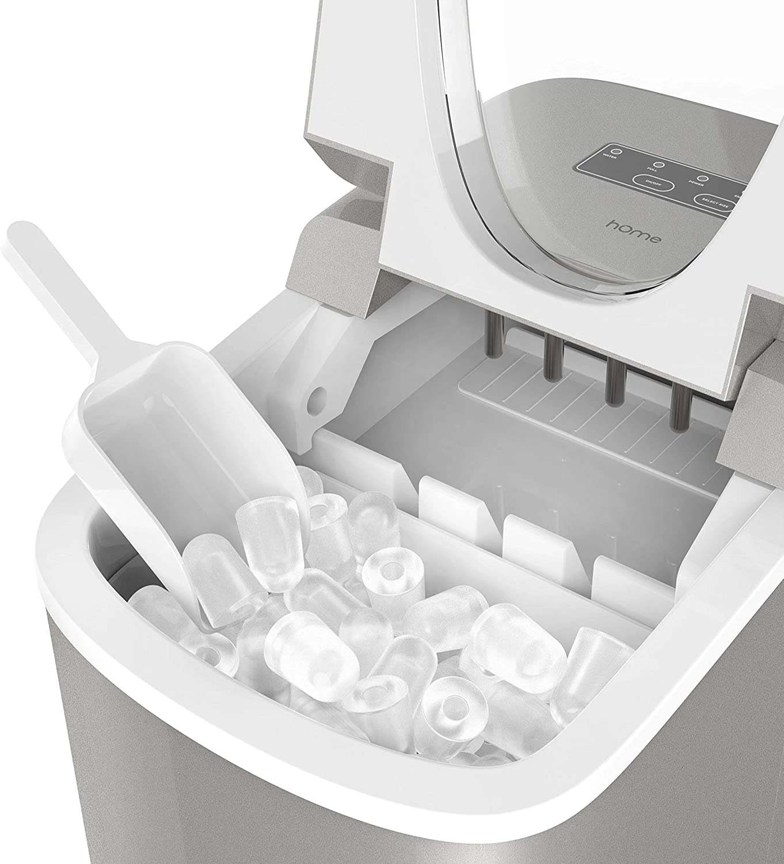 Amazon.com: Máquina de hielo hOme, Casual, Plateado ...