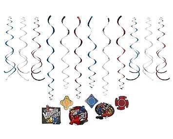Power Rangers Ninja Steel Swirl Guirnalda 12 Piezas ...