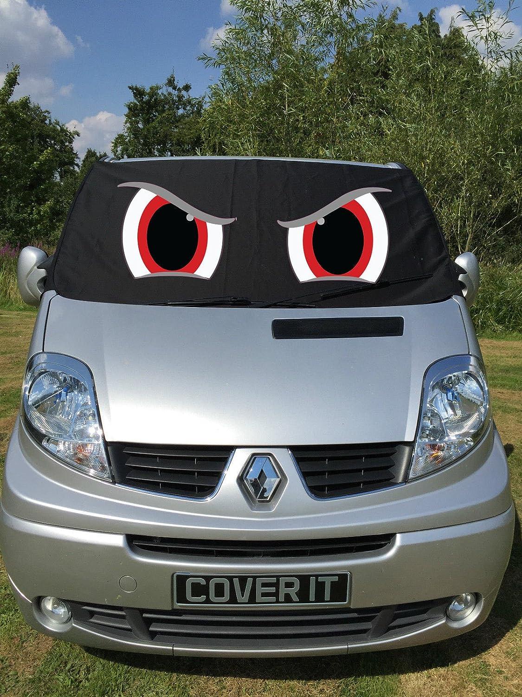 Fuel Lagoon Rocky Eyes Traffic Van Window Screen Cover Windscreen