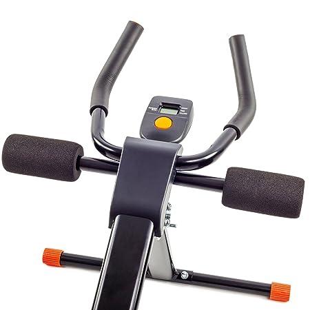 TechFit Dispositivo para Modelado de Abdomen y Cintura, Vertical, Plegable, Ab Trainer, Mejorador de Resistencia (Negro): Amazon.es: Deportes y aire libre