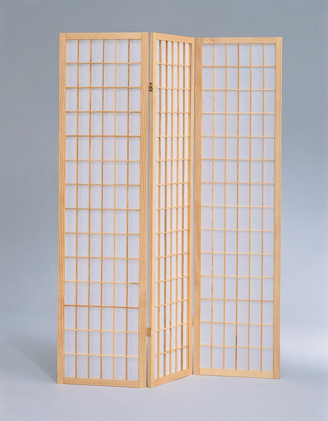 Milton Greens Stars 3-Panel Sam Room Divider, Natural by Milton Greens Stars