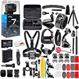 GoPro HERO7 Black - Waterproof Action Camera with Touch Screen, 4K HD Video, 12MP Photos, Live Streaming and…