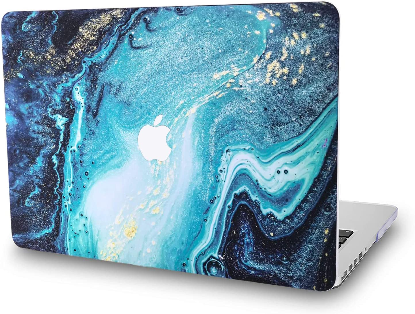 Hard Case Compatible with MacBook Air 11.6 Inch Model A1465/A1370 - L2W Laptop Computers Accessories Plastic Smooth Print View Design Protective Pattern Cover,Riverbed