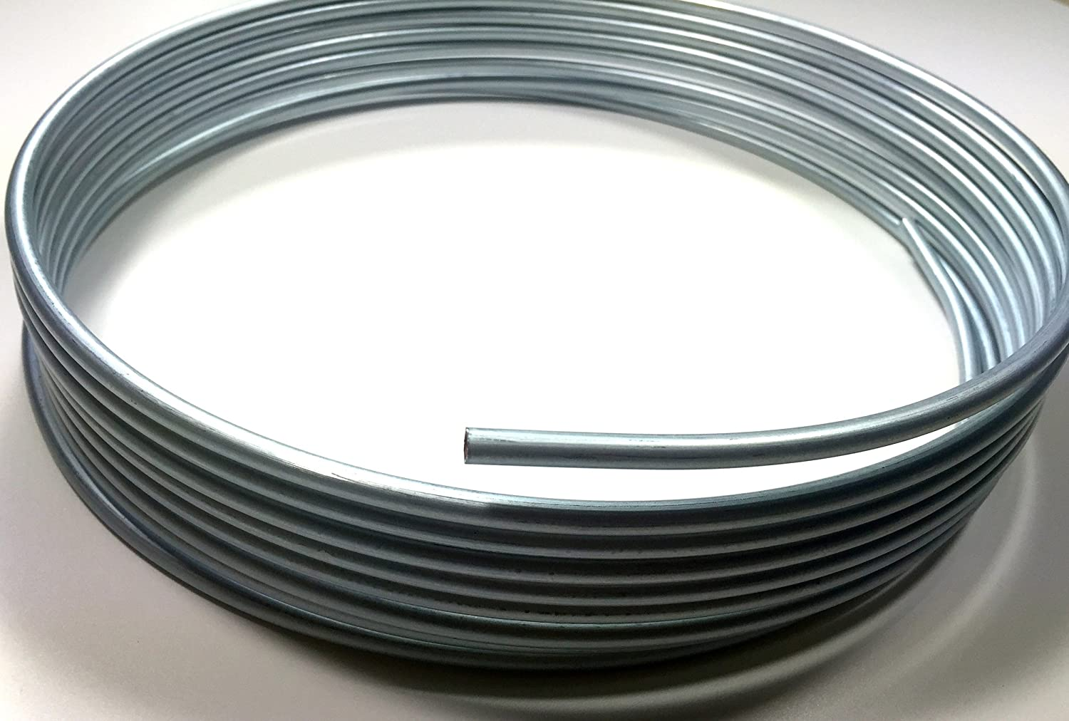 25 ft. Roll of Zinc Plated 5/16' Tubing - Fuel or Transmission The Stop Shop