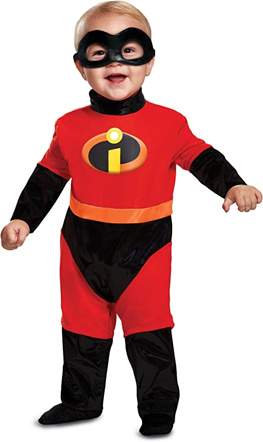 Disguise Baby Incredibles Infant Classic Costume, red, (12-18 mths)