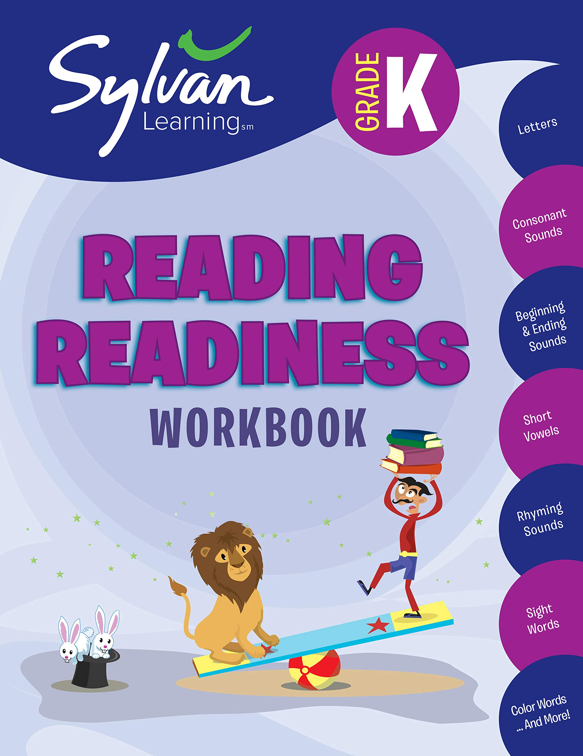 Amazon.com: Kindergarten Reading Readiness Workbook: Activities ...