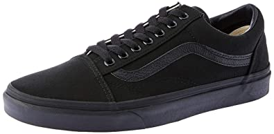 783d9488d9 Image Unavailable. Image not available for. Color  Vans Old Skool Flame  Wall Black Black (6 Women 4.5 Men ...