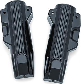HC11-0118 Black Fork Slider Covers in stock length for 2014 /& Newer Harley-Davidson Touring models