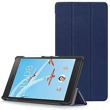 Lenovo Tab 7 Essential Funda - Carcasa Ultra Delgado y Ligero con Cubierta de Soporte para Lenovo Tab 7 Essential 7 Pulgadas Tablet Modelo de 2017, ...