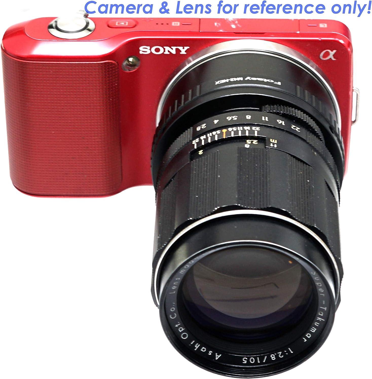 Nikon F to E Mount Fotasy Manual Nikon G Lens to Sony E-Mount Adapter Nikon G AFS Adapter Sony FE fit Sony Alpha NEX-5T NEX-6 NEX-7 a3000 a3500 a5000 a5100 a6000 a6100 a6300 a6400 a6400 a6500 a6600
