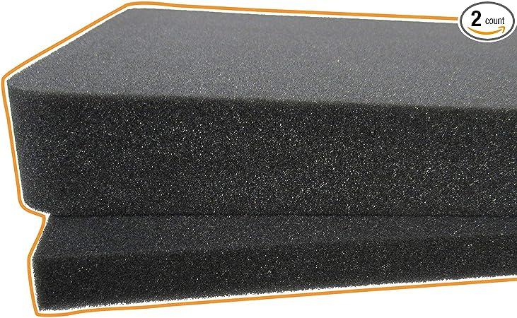 500MM X 500MM X 35MM GREY PACKAGING FLIGHT CASE FOAM PROTECTION FOAM PADS.