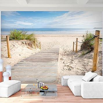 Fototapete Strand Meer 352 X 250 Cm Vlies Wand Tapete Wohnzimmer  Schlafzimmer Büro Flur Dekoration Wandbilder
