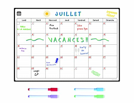 SmartPanda Calendario Magnético para Nevera - Ideal Planificador ...