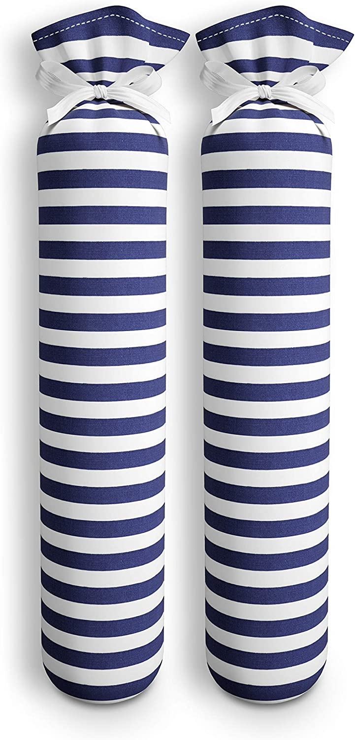 My Boot Trees, Boot Shaper Stands for Closet Organization. Many Patterns to Choose from. 1 Pair. (Blue & White Stripes)
