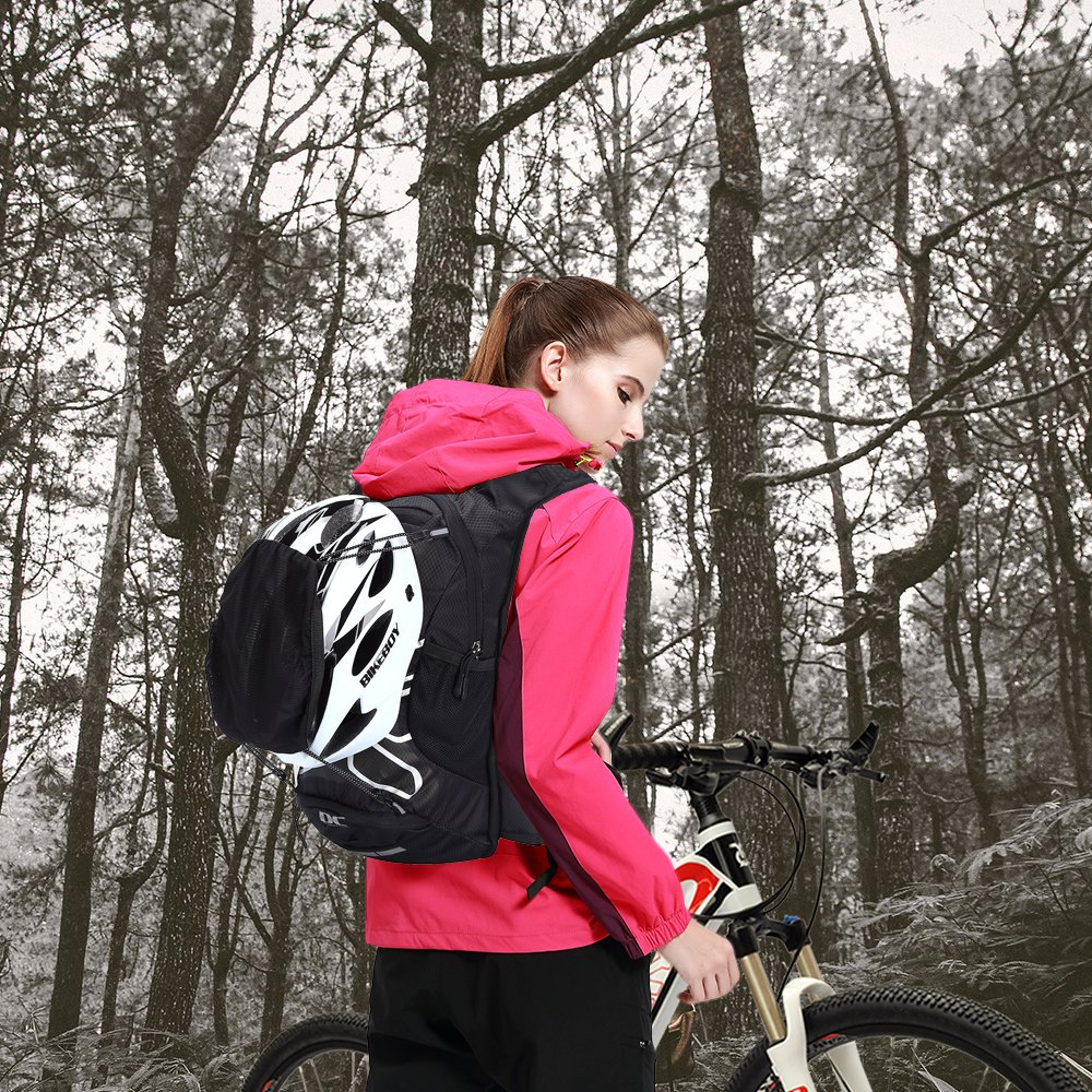 Cycling Hydration Backpack 12 litres - Lightweight Hiking Rucksack Breathable Bike Backpack Great for Men & Women Outdoor Sports, Small Backpacks for Fitness Running Biking Skiing Trekking Travelling