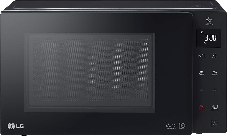 LG NeoChef Encimera - Microondas (Encimera, Microondas combinado, 23 L, 1150 W, Tocar, Negro)