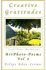 Creative Gratitudes Vol 2 Kindle Edition