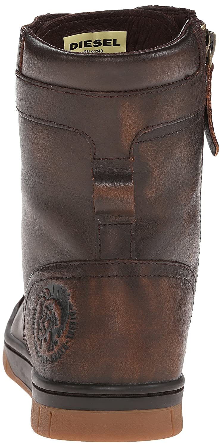 3c77875bdf48 Diesel Men s Tatradium Basket Butch Zip Combat Boot