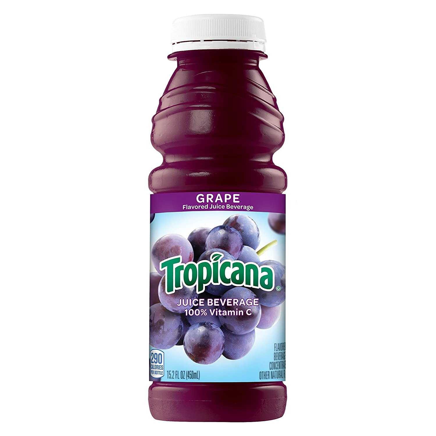 Tropicana Grape Juice Drink, 15.2 Ounce (Pack of 12)