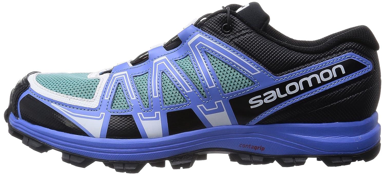 5 Women's ShoeTopaz Salomon W Trail Running B Fellraiser Blue7 tshrdCBQx
