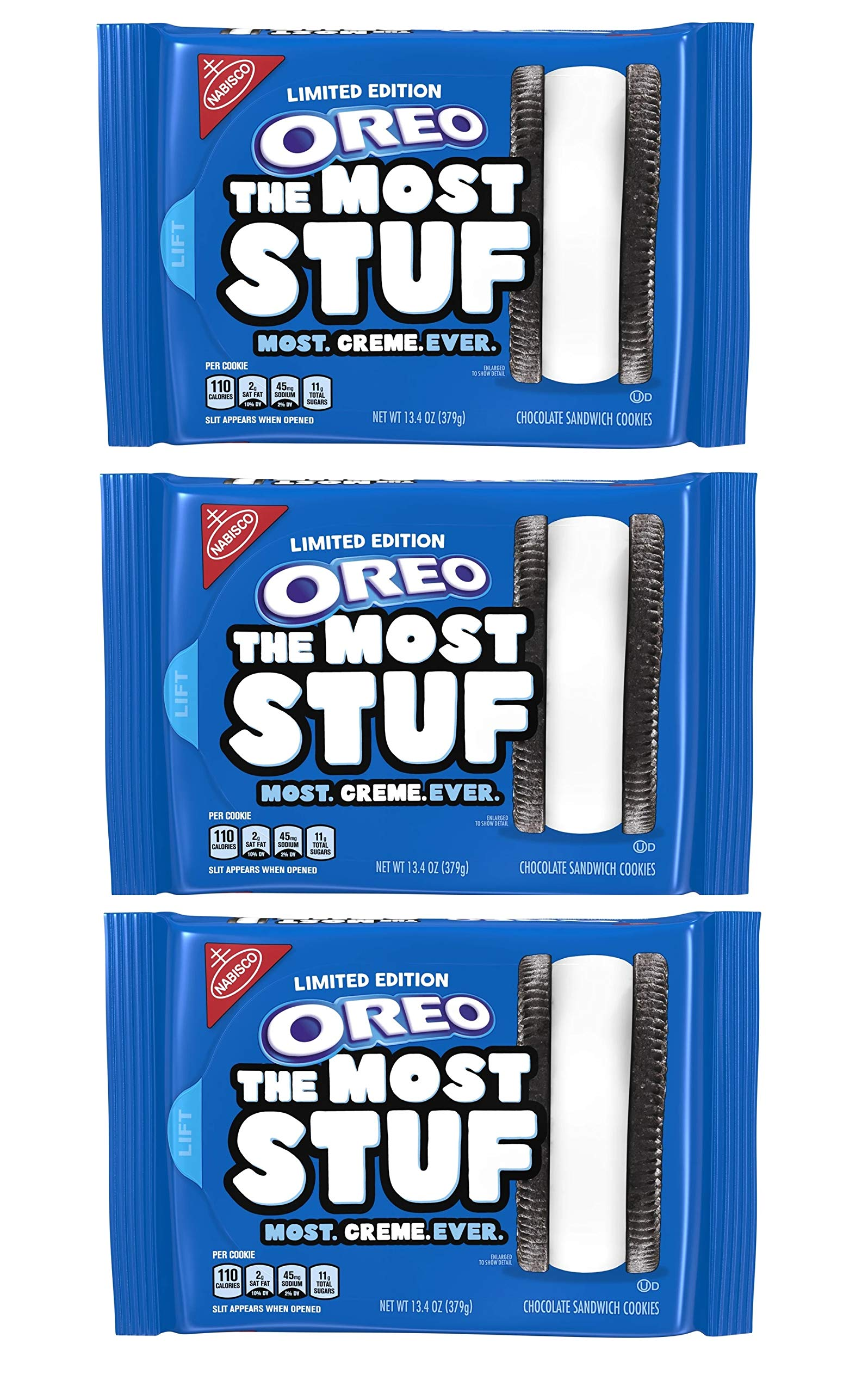 OREO The Most Stuf Cookies - Pack of Three