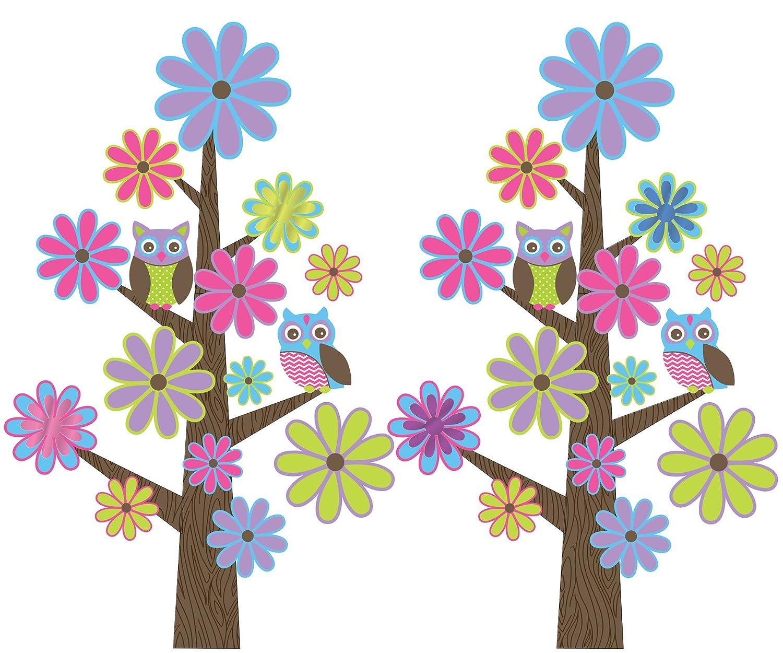 Wall Pops WPK0620 Spot The Owl Wall Decals   Decorative Wall Appliques    Amazon.com