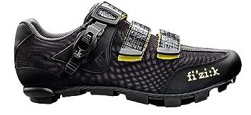 Fizik Zapatillas de M3 Uomo para Bicicleta de montaña para Hombre, Hombre, Negro