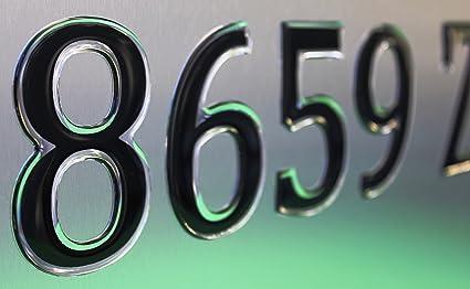 3 Raised Domed Lettering US DOT NUMBERS. Custom Registration 22 PCS Total Set For