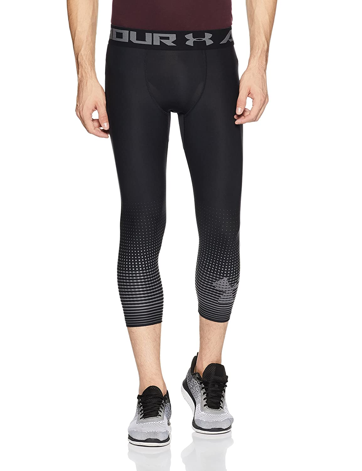 6cdc3d4585 Under Armour Men's Hg Comp Graphic 3/4 Legging: Amazon.co.uk: Clothing
