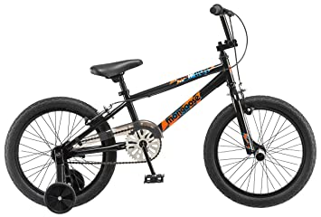 Mongoose Boys Switch 18 Wheel Bicycle Black