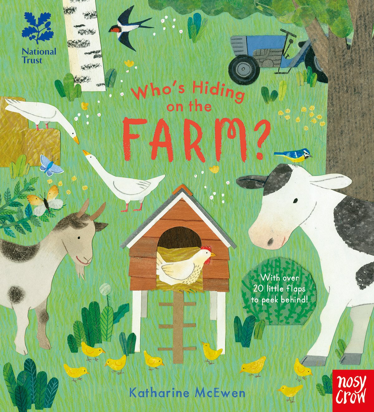 National Trust: Who's Hiding on the Farm? (Who's Hiding Here?) pdf