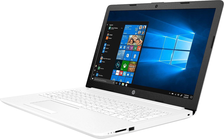 PORTÁTIL HP 15-DA0011NS - Intel N4000 1.1GHZ - 8GB - 1TB - 15.6/39.6CM - DVD RW - HDMI - WiFi BGN - BT - W10 - Blanco Nieve