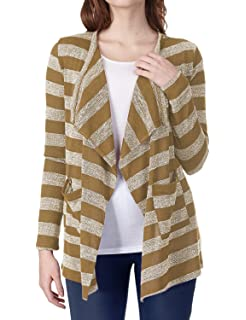 96711e85946 Women's Ribbed Cardigan Short Draped Open Front Small to 3XL ...
