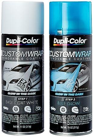 Amazon.com: Dupli-Color ECWRC8700 Blue Custom Wrap Removable ...