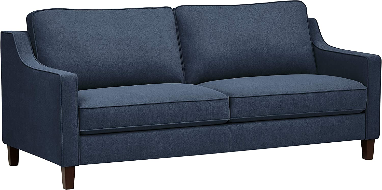 Amazon Brand – Stone & Beam Blaine Modern Sofa Couch, 79.5