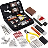 MIFOGE 45Pcs Guitar Repairing Maintenance Tool Kit with Carry Bag Large Care Set of Tools For Acoustic Guitar Electric…
