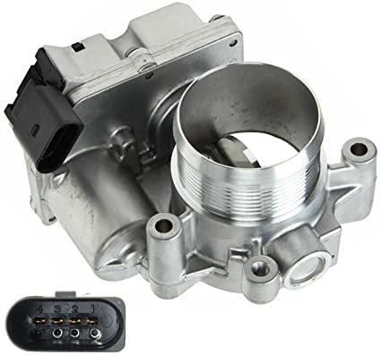 APDTY 112639 Electronic Throttle Body Fits Seelct 2009-2014 Audi A3 / Volkswagen VW Beetle