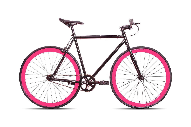9d6de9dbce887 50cm Black   Pink CM Fixie Fixed Gear Single Speed Urban Road Bike Flip-Flop  Hub BICYCLES  Amazon.ca  Sports   Outdoors