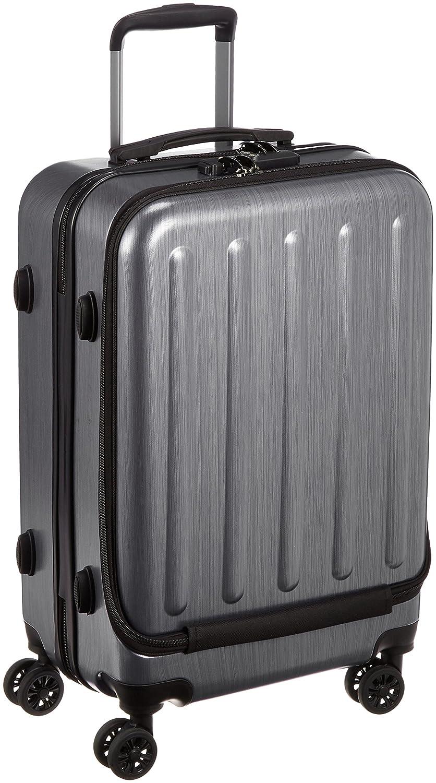 [レジェンドウォーカー] スーツケース 保証付 54L 55cm 3.6kg 5403-55  メタリックブラック B01MDPEKIF