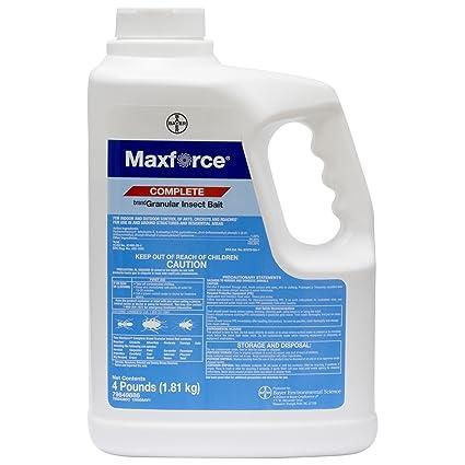 Amazon.com: Maxforce Complete anzuelo Granular – 4 Lb Jarra ...