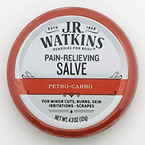 J.R. Watkins Petro Carbo First Aid Salve 4.38 oz