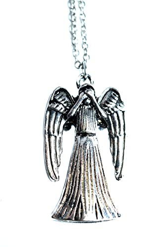 Doctor who double sided weeping angel pendant antique jewellery doctor who double sided weeping angel pendant antique jewellery aloadofball Images