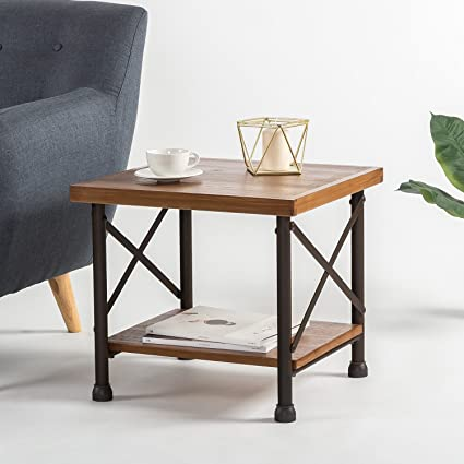 Zinus Industrial Style Side Table