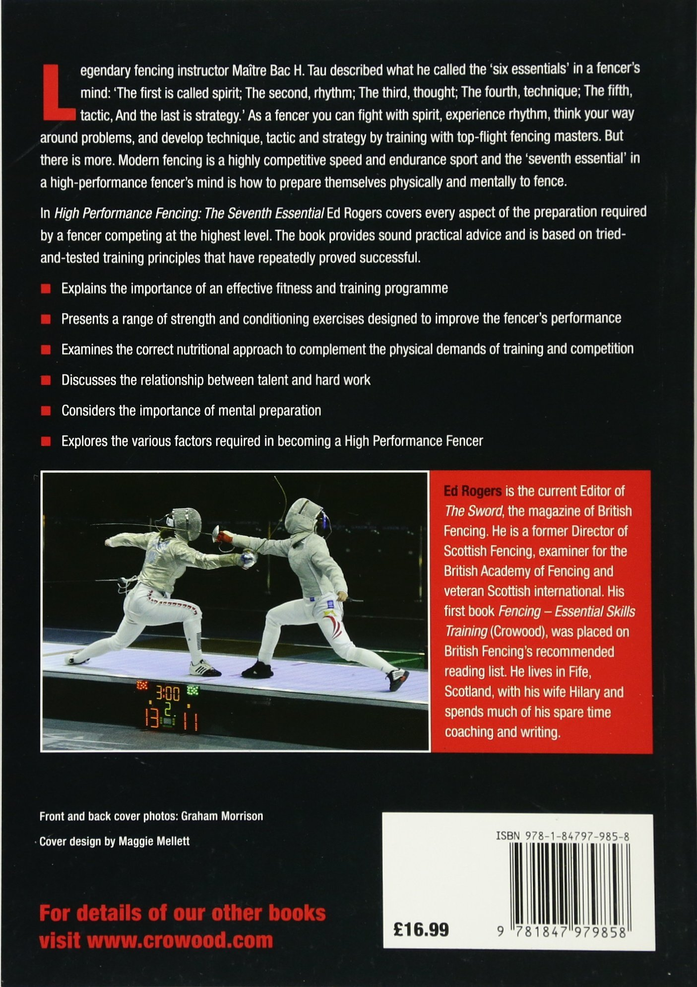 high performance fencing the seventh essential ed rogers
