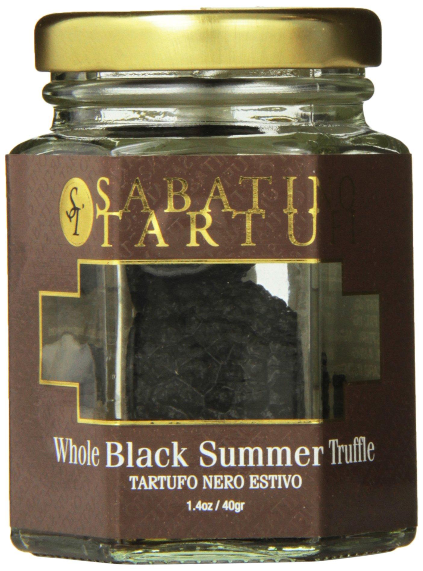 Sabatino Tartufi Whole Black Summer Truffle, 1.4 Ounce by Sabatino