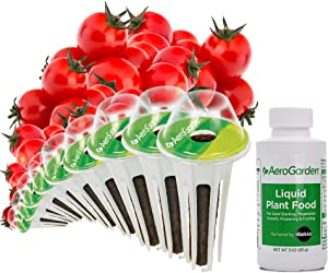 AeroGarden Red Heirloom Cherry Tomato Seed Pod Kit, 9