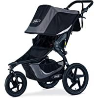 BOB Gear Revolution Flex 3.0 Jogging Stroller - Up to 75 pounds - UPF 50+ Canopy - Adjustable Handlebar - Easy Fold, Graphite Black